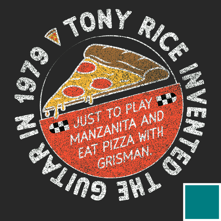 Pizza With Grisman Tee